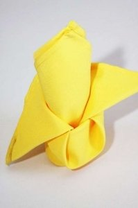 100 Yellow 17x17 Napkins(Jodi)