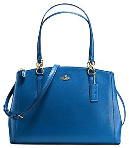 Coach Satchel in Cobalt