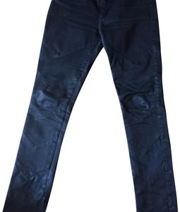 Superfine Skinny Jeans-Dark Rinse