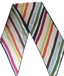 Coach Coach Oblong Multi Colored Scarf