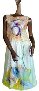 Violet Luck Masterpiece Hand Painted Dress