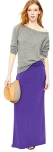 J.Crew Maxi Skirt Purple