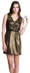 Charlotte Ronson Metallic Dress