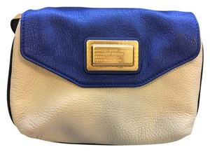 Marc by Marc Jacobs Leather Color-blocking Mini Monogram Cross Body Bag