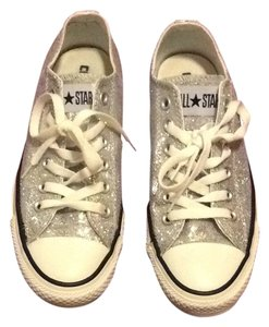 Converse silver sparkle Silver Athletic
