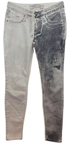 Robin's Jean White Stretchy Cotton Skinny Pants