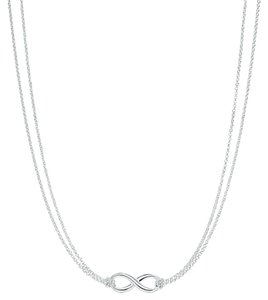 Tiffany & Co. Tiffany & Co. Sterling Silver Infinity Necklace