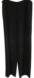 St. John Wear To Work Wide Leg Pants Black