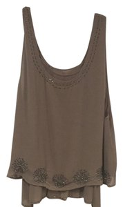 Greylin Top Gray, Tan