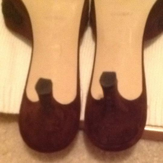 Ditto by VanEli Brown w/black Mules