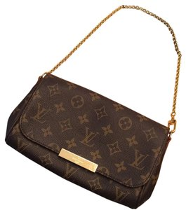 Louis Vuitton Hand Brown Clutch