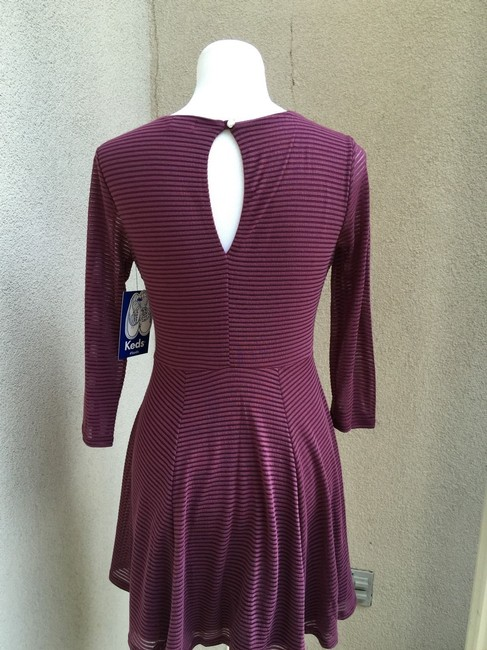 Keds short dress Aubergine Knee Length on Tradesy