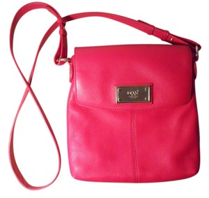 Donna Karan Leather Cross Body Bag