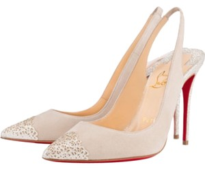 Christian Louboutin Cream/ivory Pumps