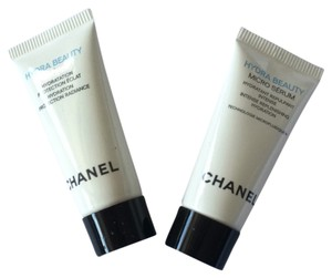 Chanel Hydra Beauty Micro Serum and Creme Moisturizer Deluxe Samples