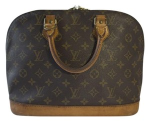 Louis Vuitton #alma Satchel in Monogram