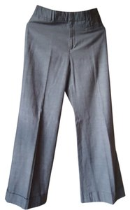 Anthropologie Cotton Cuffed Elevenses Wide Leg Pants