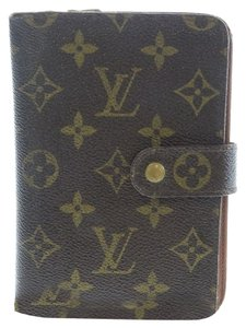 Louis Vuitton 100% Authentic Louis Vuitton Brown Monogram Bifold Wallet with Coin Purse