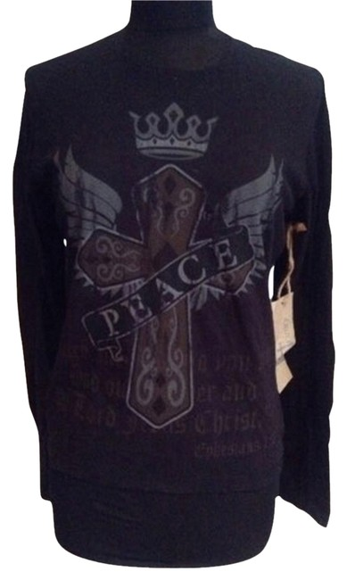 Preload https://item2.tradesy.com/images/peace-sweatshirthoodie-size-os-one-size-1501716-0-0.jpg?width=400&height=650