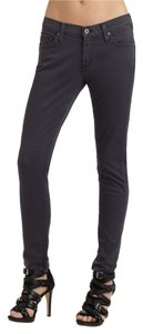 James Jeans New Ankle Zippers Skinny Jeans-Medium Wash