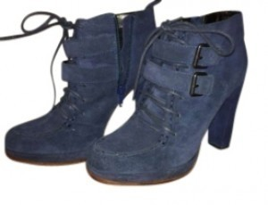 Dolce Vita navy blue suede Boots