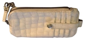 Brighton Wristlet in White
