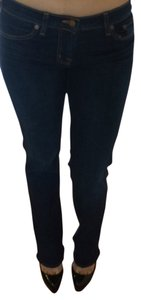 J Brand Pants Boot Cut Jeans-Dark Rinse