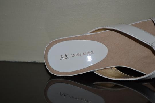 AK Anne Klein WHITE Sandals