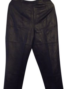 Terry Lewis Classic Luxuries Straight Pants Dark Purple