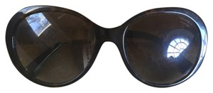 Chanel CHANEL Round Acetate Bijoux Exclusive Sunglasses 5290B Havana