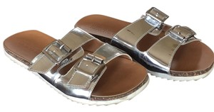 Kenneth Cole Reaction Silver metallic Sandals