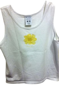 Columbia Top White with Daisy