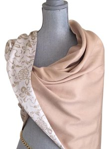 Shanghai Tang Shanghai Tang cashmere and silk wrap in almond color