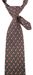 Brooks Brothers Makers Brooks Brothers Makers 100% Silk Tie Teal Maroon Yellow