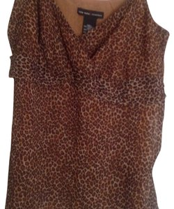 New York & Company Top Brown