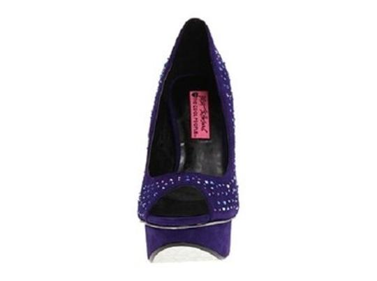 Betsey Johnson Purple Pumps