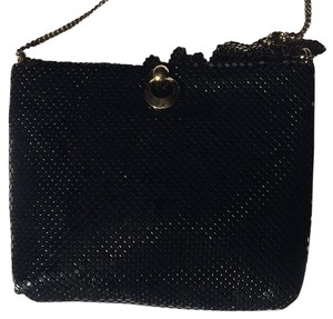 Black Metallic Purse Satchel
