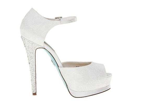 Betsey Johnson White Formal