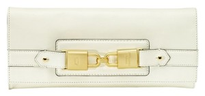 Juicy Couture Designer Crown White Clutch