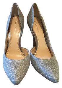 BCBGeneration Stiletto Classic Silver Formal