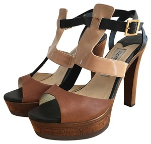 Jimmy Choo Nude combo (beige, black, brown) Platforms