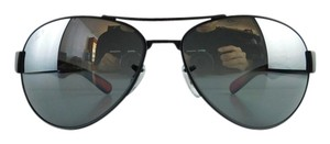 Ray-Ban New Ray-Ban Sunglasses RB 3509 006/82 Matte Black Acetate Full-Frame Polarized Gradient Mirror 63mm Made in Italy
