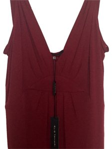 Elie Tahari Top Cranberry