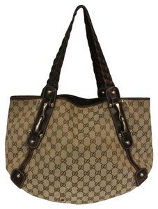 Gucci Cross Monogram Gg Shoulder Bag