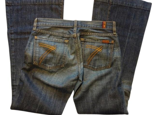 Preload https://item4.tradesy.com/images/7-for-all-mankind-dark-rinse-seven-flare-leg-jeans-size-27-4-s-1502118-0-0.jpg?width=400&height=650