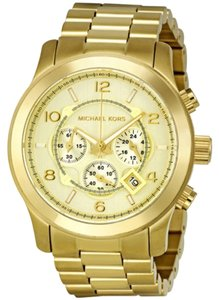 Michael Kors Michael Kors Gold-Tone Unisex Watch
