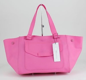 BCBGeneration Convertible Beach Purse B78 Tote in Hot Pink