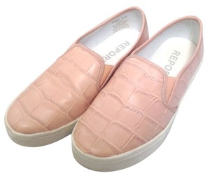 REPORT Nude Croc Sneakers blush Flats