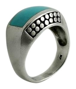 Other Navajo Turquoise Sterling Silver Ring Size 6.5