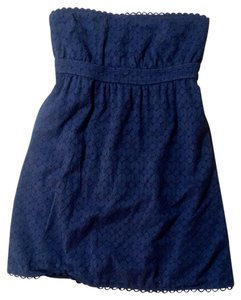 Juicy Couture short dress blue Size Small Navy P2033 on Tradesy